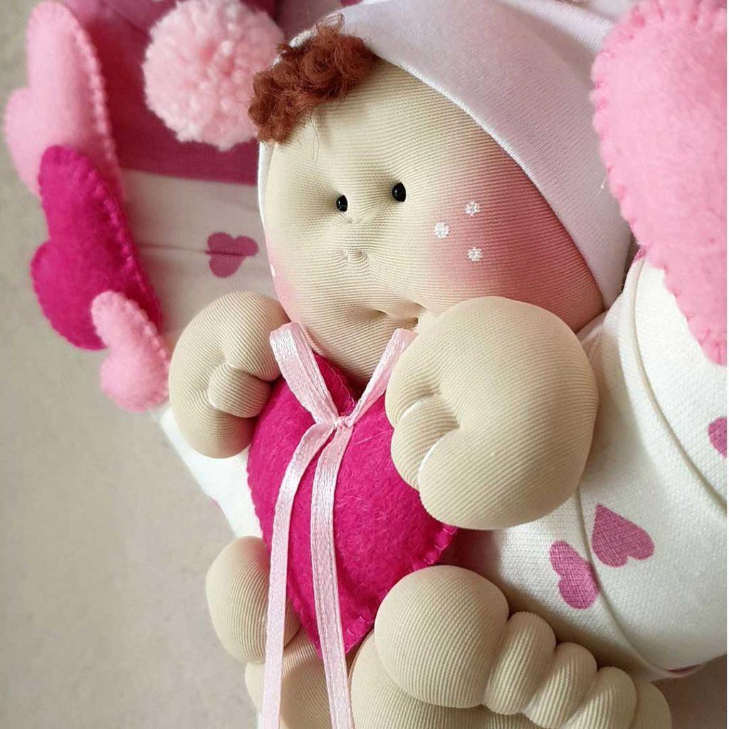 bambolotto fiocco nascita bimba
