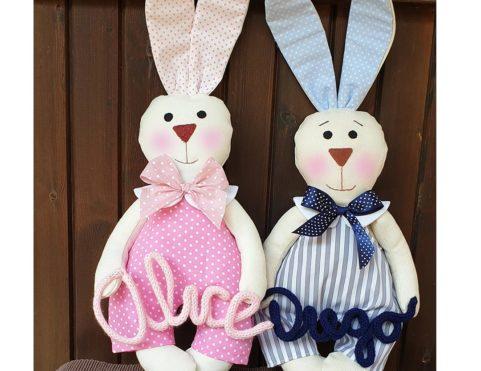 Coniglietti personalizzati