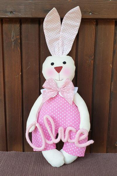 Coniglietto-tessuto-personalizzato-bimba