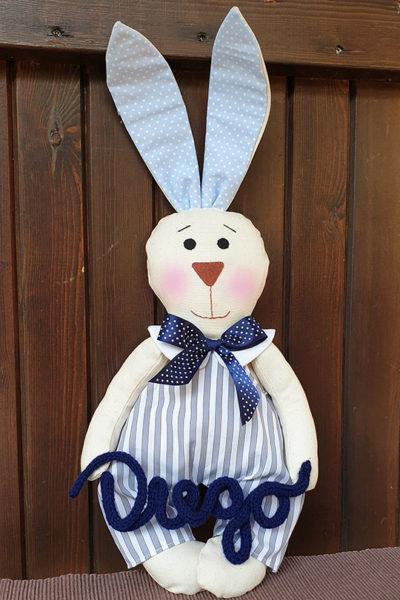 Coniglietto-tessuto-personalizzato-bimbo
