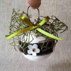 Pallina-Natale-fiocco-rete-fiorellini