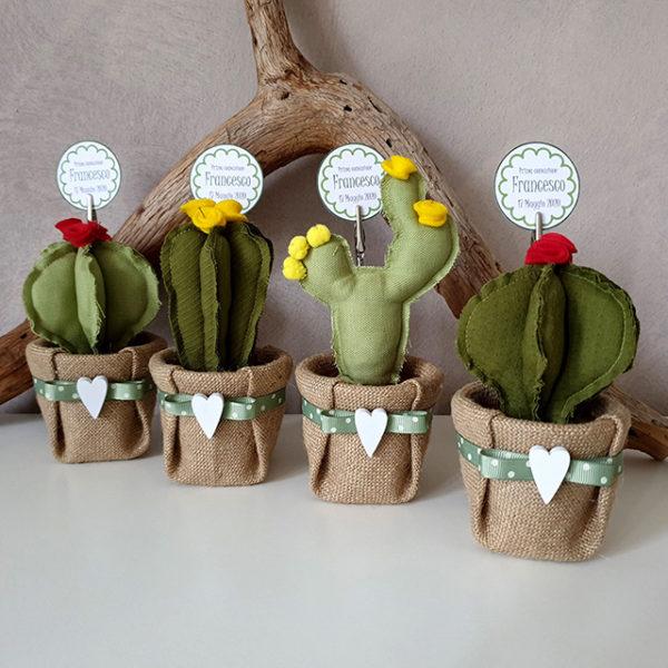 Bomboniere cactus comunione