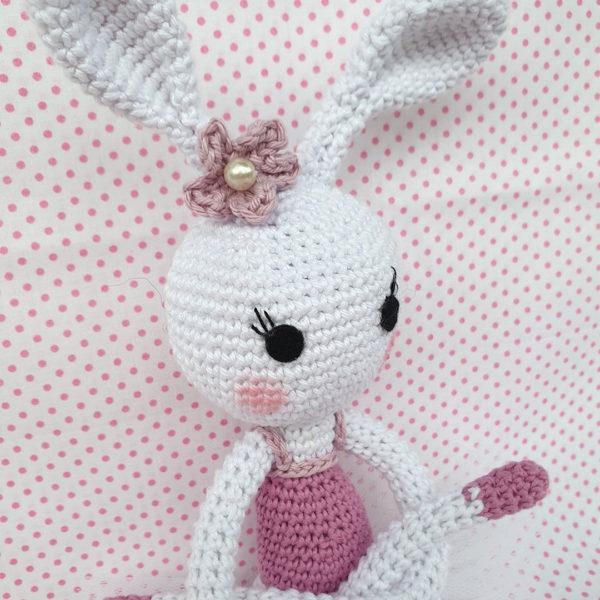 ballerina coniglietta crochet