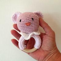 massaggia gengive orsetto crochet