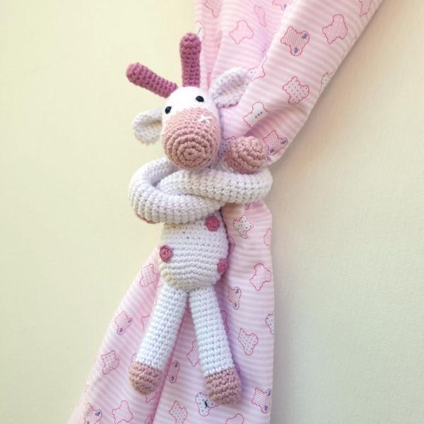 Fermatenda giraffa crochet4