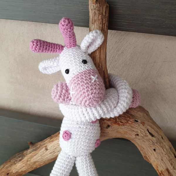 Fermatenda giraffa crochet6