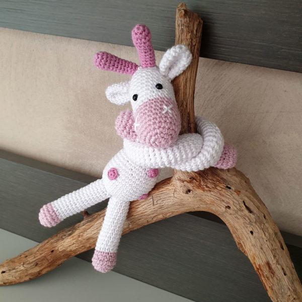 giraffa fermatenda crochet