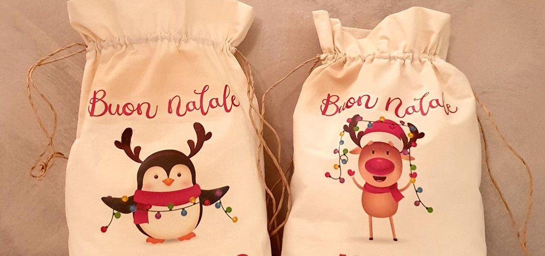 Sacche porta doni di Babbo Natale